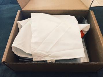 Box without bubble wrap